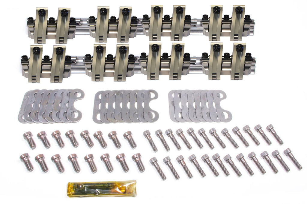 Scorpion Performance SCP3502 SBC Shaft Rocker Arm Kit - 1.6/1.6 Ratio