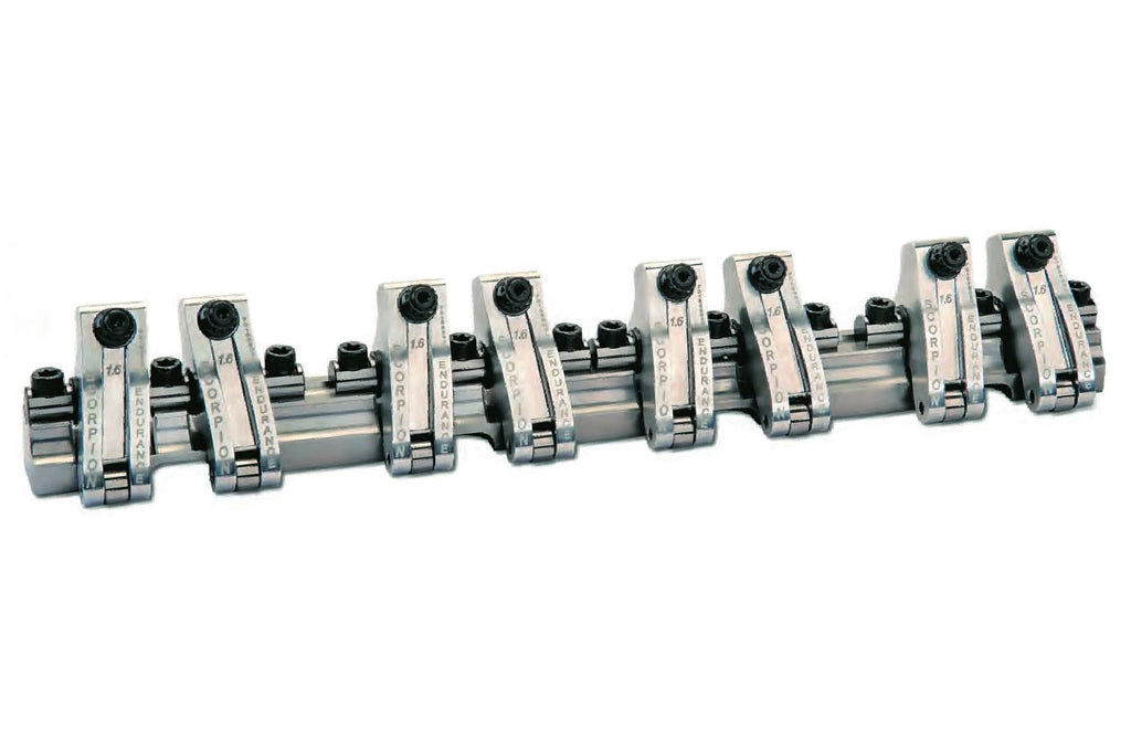 Scorpion Performance SCP3902 SBC Shaft Rocker Arm Kit 1.6/1.6 Ratio