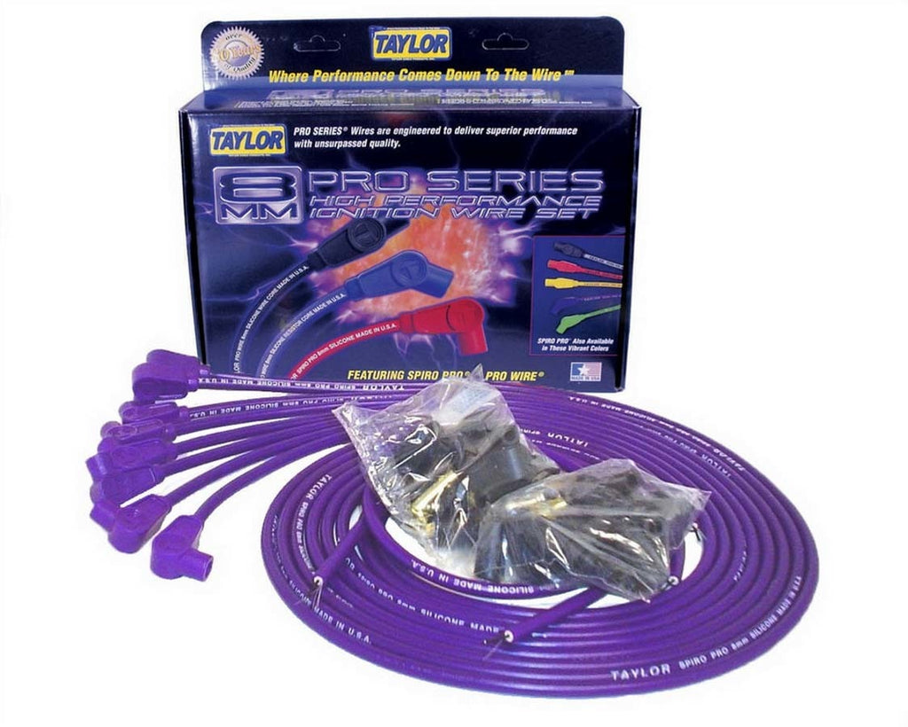Taylor / Vertex 73151 8mm 90 Deg. Purple Wire