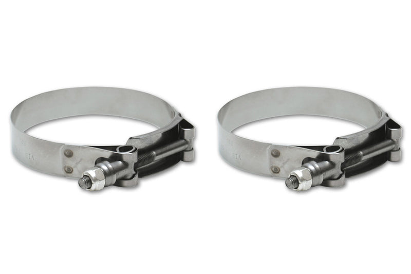 Pack of 10 22.4-25.6mm Vibrant  Stainless Steel Pinch Clamps