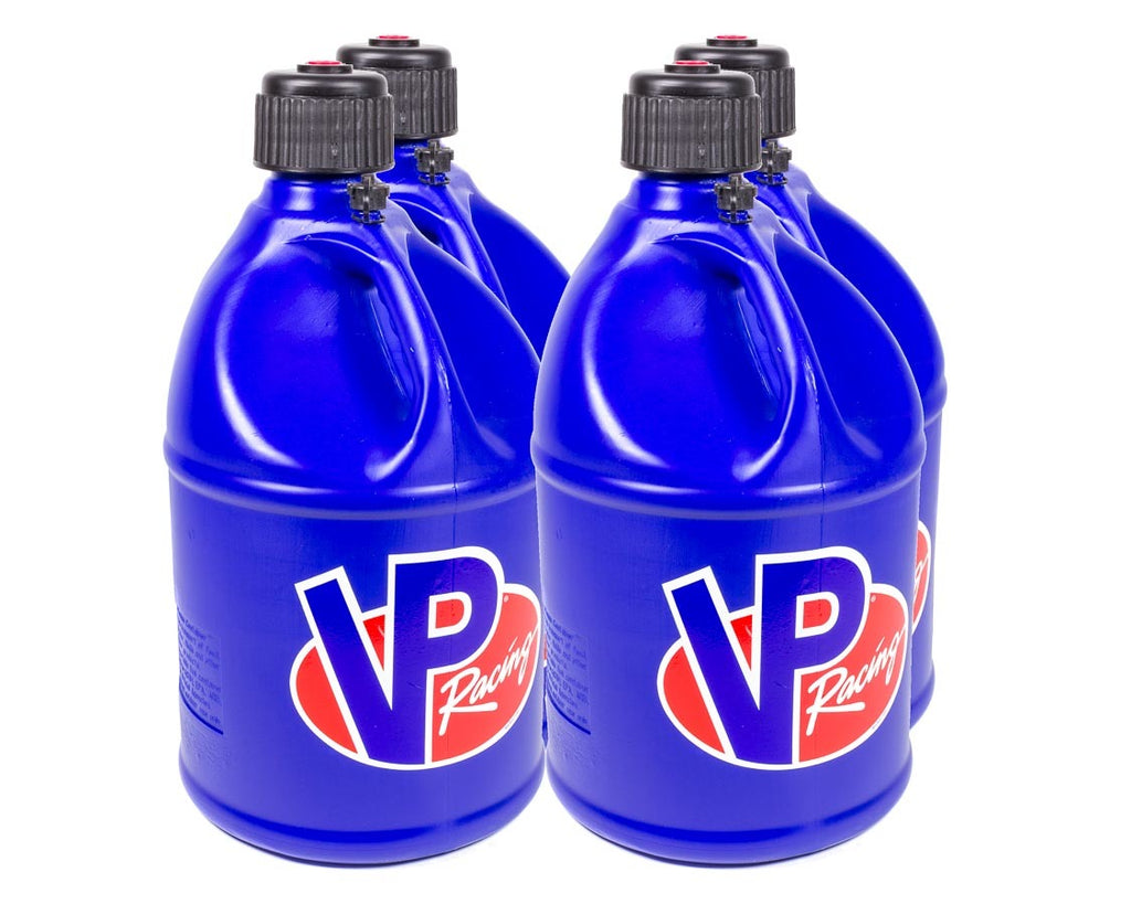 VP Racing 3034 Utility Jug 5 Gal Blue Round (Case 4)