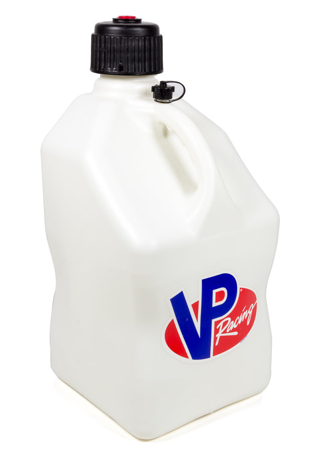 VP Racing 3522 Utility Jug 5 Gal White Square