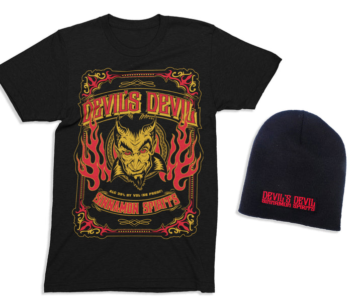 [LIMITED TIME OFFER] Devils Devil T-Shirt + Beanie Combo