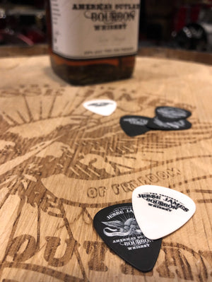 Jesse James Bourbon Guitar Picks   (4 with each order)