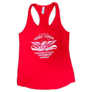 RED JESSE JAMES BOURBON TANK TOP