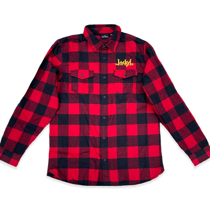 Jackyl Embroidered Flannel