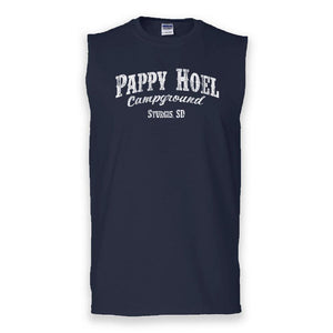 Classic Muscle Tank - NAVY BLUE