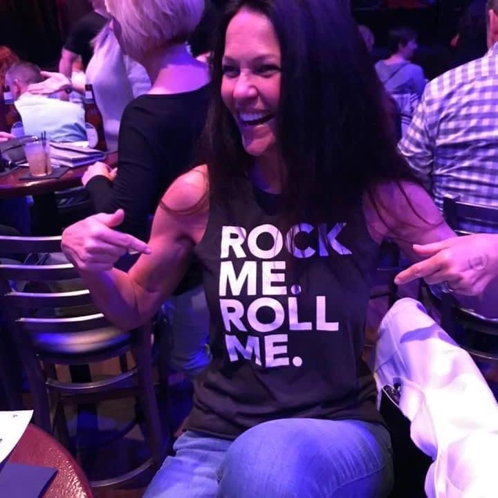 ROCK ME ROLL ME LADIES TANK