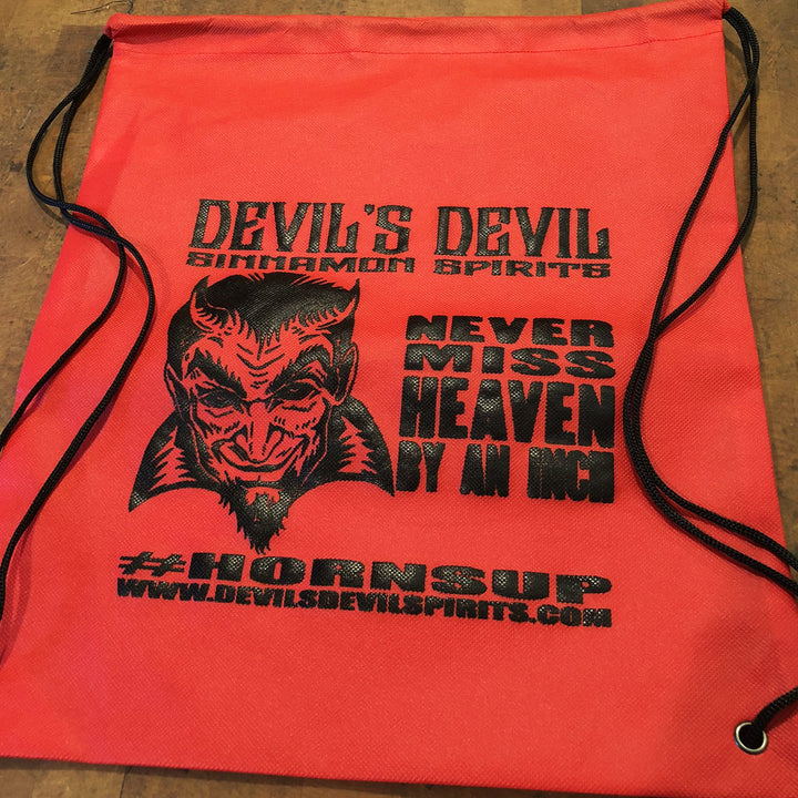 DEVIL'S DEVIL DRAWSTRING BACKPACK