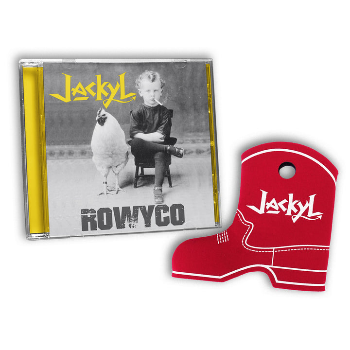 ROWYCO CD & BOOT KOOZIE BUNDLE