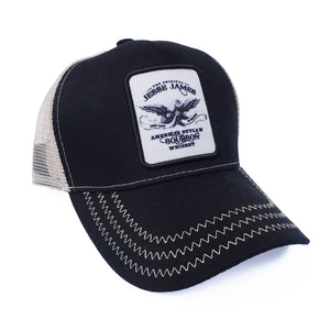 BOURBON TRUCKER CAP WITH LOGO
