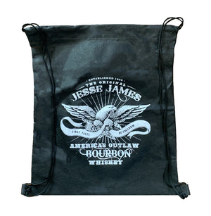 JESSE JAMES BOURBON DRAWSTRING BACKPACK