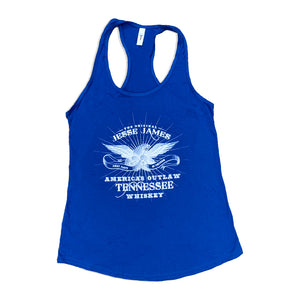 BLUE JESSE JAMES TENNESSEE WHISKEY TANK TOP