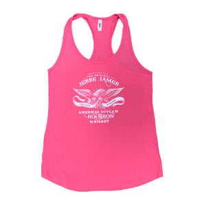 PINK JESSE JAMES BOURBON TANK TOP