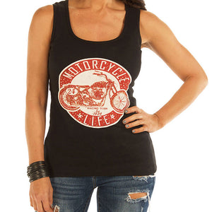 MOTORCYCLE LIFE WOMEN'S TANK