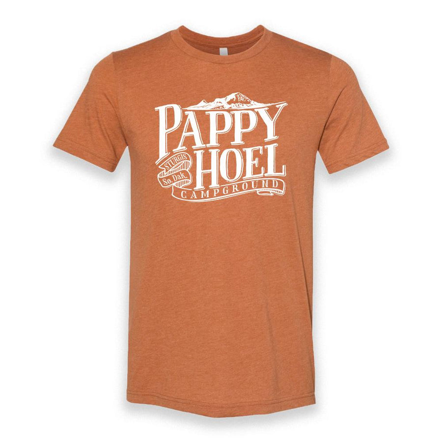 Pappy Hoel & Bear Butte Tee - HEATHER AUTUMN