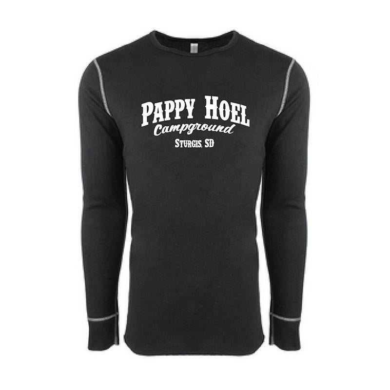 Pappy Thermal Long-Sleeve  -  BLACK
