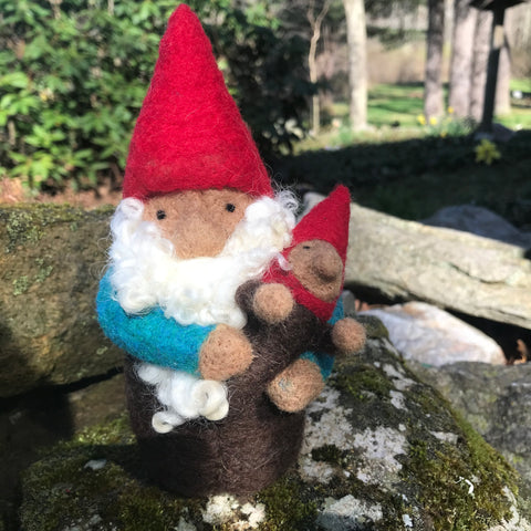 Gnome with Baby