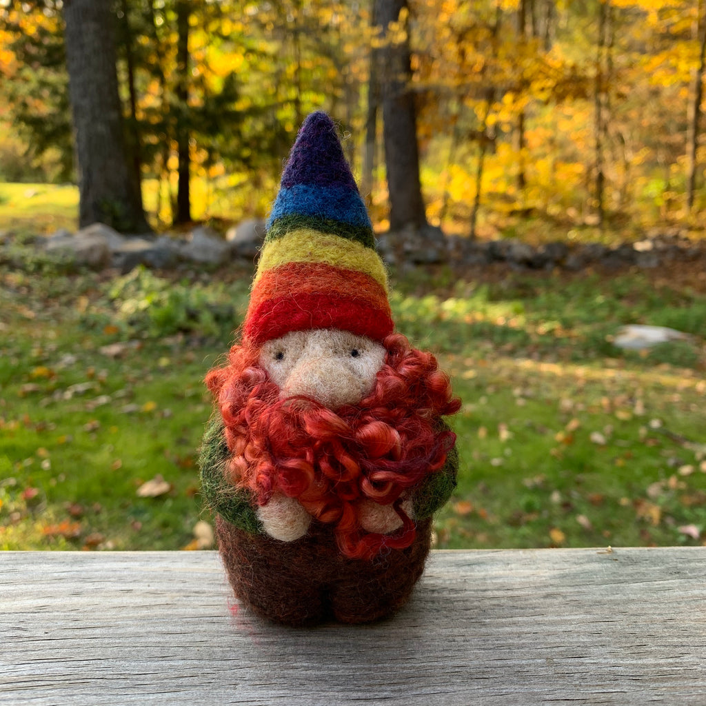 Rhinebeck Gnome - the one that forgot his mask