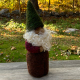 Gnome with Green Hat