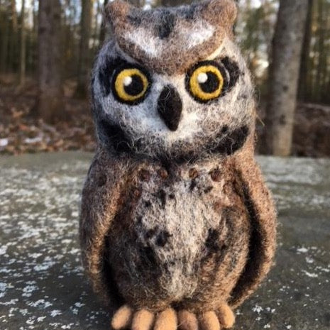 Screech Owl Kit (large) - NEW!
