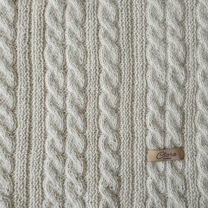 Blanket Catherine - Off white - claralondon-shop -  - Clara London