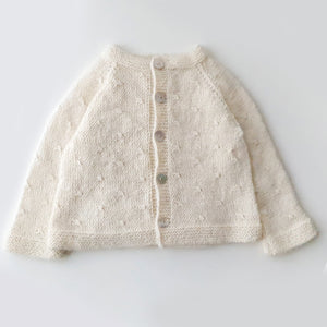 Cardigan Clara - Off white - claralondon-shop -  - Clara London