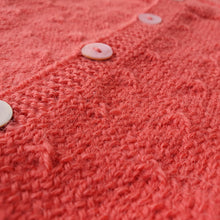 Load image into Gallery viewer, Set Cardigan and Hat Clara - Coral [LIMITED EDITION] - claralondon-shop -  - Clara London