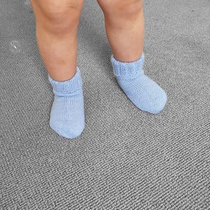 Socks Harley - Light blue - claralondon-shop -  - Clara London