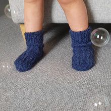 Load image into Gallery viewer, Socks Edward - Navy - claralondon-shop -  - Clara London