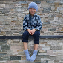 Load image into Gallery viewer, Set Hat and Socks - Light blue - claralondon-shop -  - Clara London