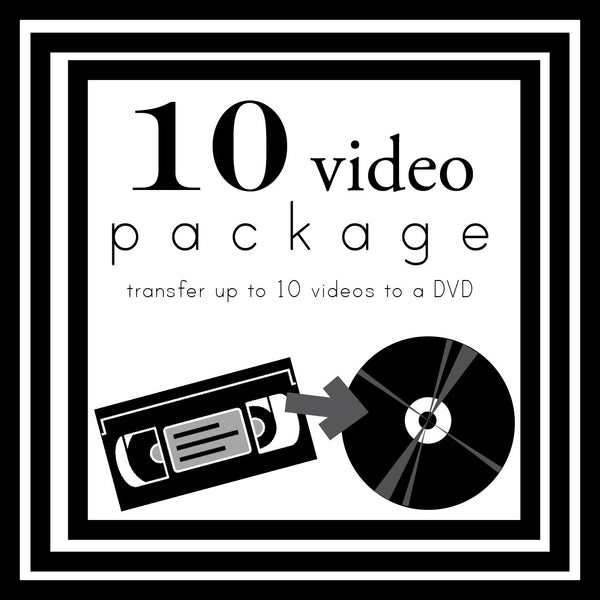Transfer Up To 10 Videos