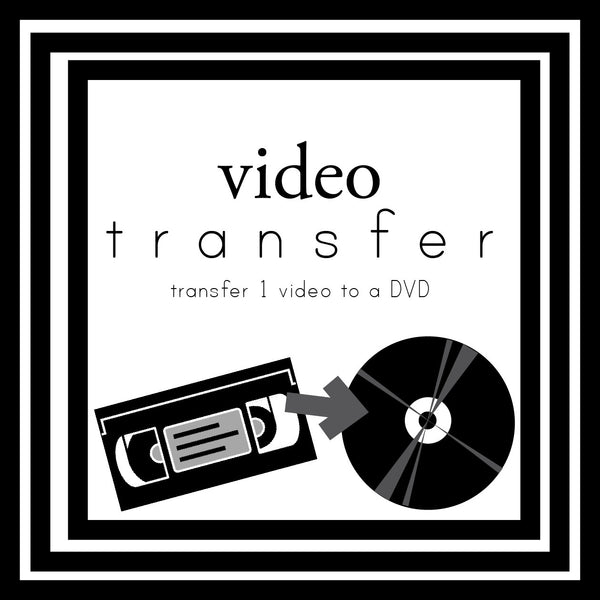 Add on 2 Video Transfers
