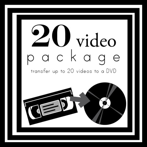 Transfer Up To 20 Videos