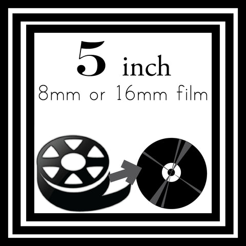 "5"" Reel to Reel Transfer to MP4"