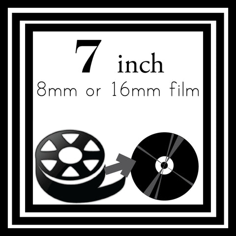 "7"" Reel to Reel Transfer to DVD"