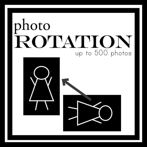Photo Rotation for 500 Photos