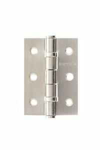 "Atlantic Ball Bearing Hinges 3"" x 2"" x 2mm - Satin Stainless Steel"