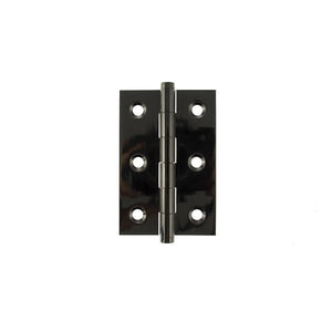 "Atlantic Butt Hinges 3"" x 2"" x 2.2mm inc Screws - Black Nickel"