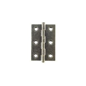 "Atlantic Butt Hinges 3"" x 2"" x 2.2mm inc Screws - Distressed Silver"