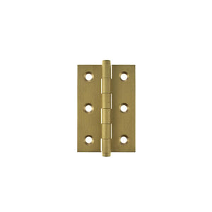 "Atlantic Butt Hinges 3"" x 2"" x 2.2mm inc Screws - Satin Brass"