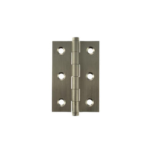 "Atlantic Butt Hinges 3"" x 2"" x 2.2mm inc Screws - Satin Nickel"