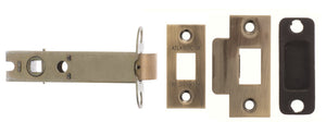 "Atlantic Heavy Duty Bolt Through Tubular Latch 4"" - Antique Brass"