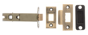 "Atlantic Heavy Duty Bolt Through Tubular Latch 4"" - Matt Antique Brass"