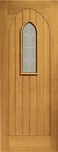 Oak Westminster with Decorative Glass