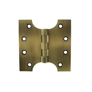 "Atlantic (Solid Brass) Parliament Hinges 4"" x 2"" x 4"" - Antique Brass"