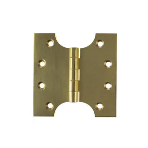 "Atlantic (Solid Brass) Parliament Hinges 4"" x 2"" x 4"" - Polished Brass"