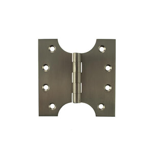 "Atlantic (Solid Brass) Parliament Hinges 4"" x 2"" x 4"" - Satin Nickel"