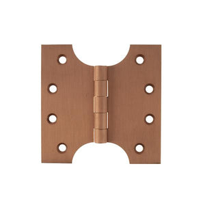 "Atlantic (Solid Brass) Parliament Hinges 4"" x 2"" x 4"" - Urban Satin Copper"