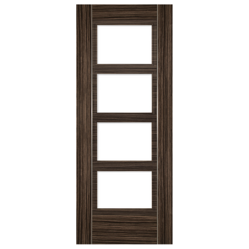 Calgary Abachi Glazed Fire Door